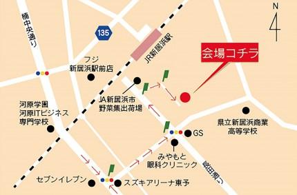 20150807-4 いちみや郷の家(坂井まち) 地図 【 閲 覧 】